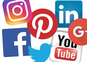 Logaux des principaux réseaux sociaux