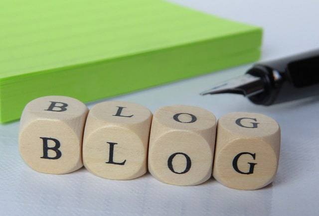 création blog dans site vitrine