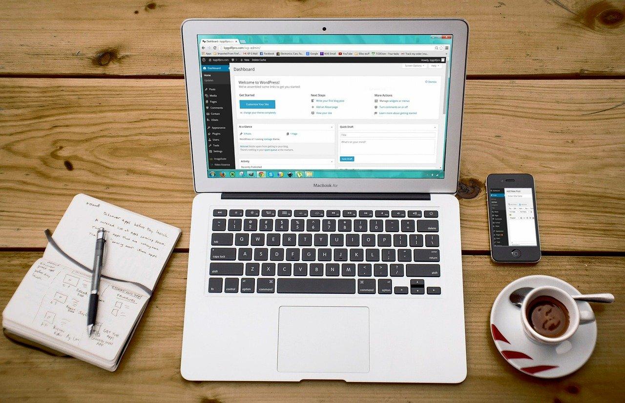 Création d'un site Internet Saint-Priest avec WordPress
