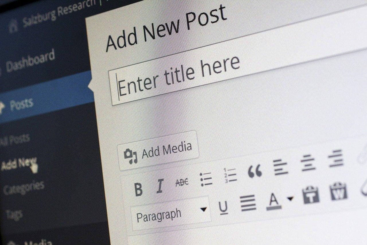 Création d'un site Internet L'Union avec WordPress