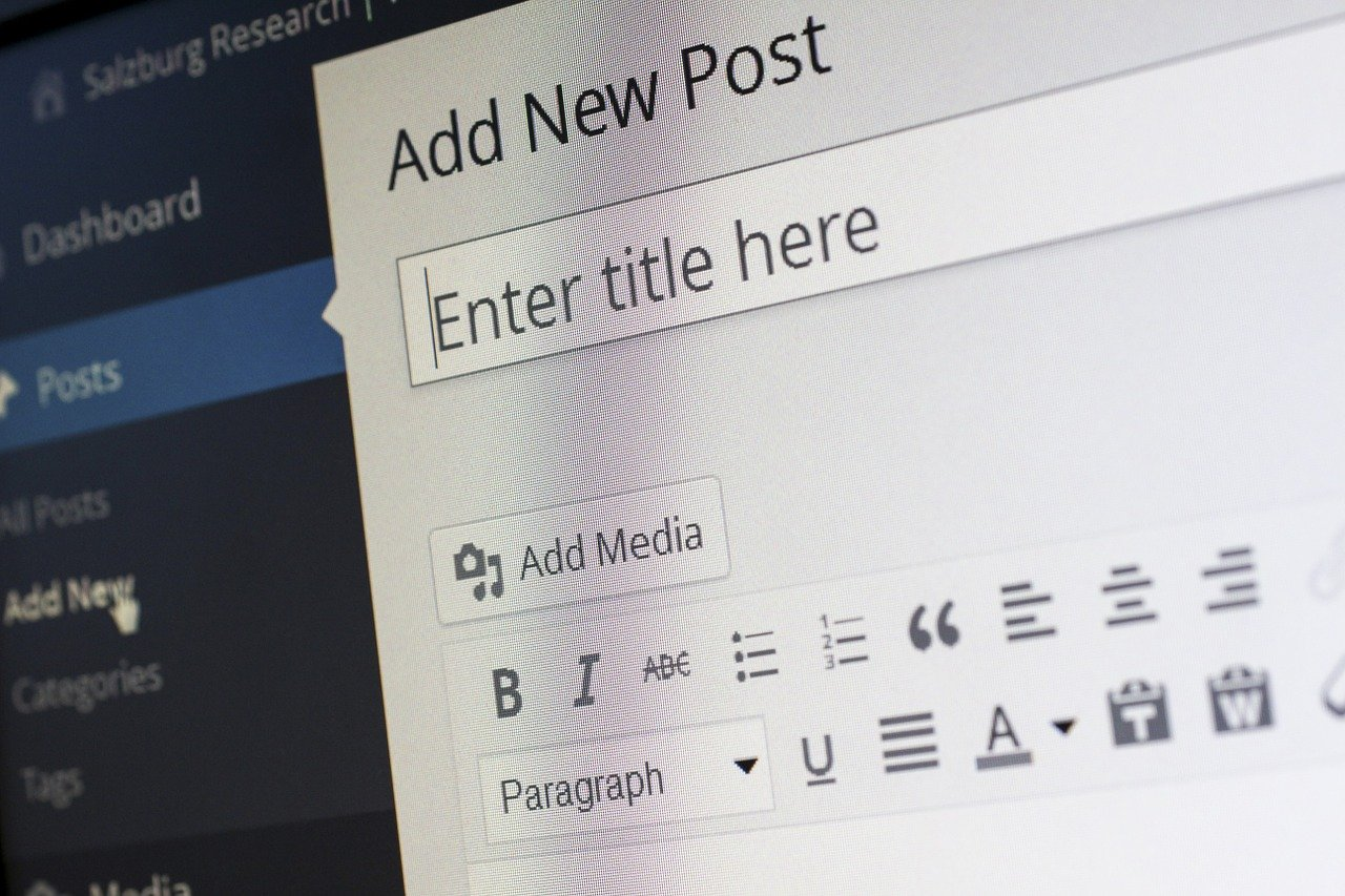 Création d'un site Internet Manosque avec WordPress