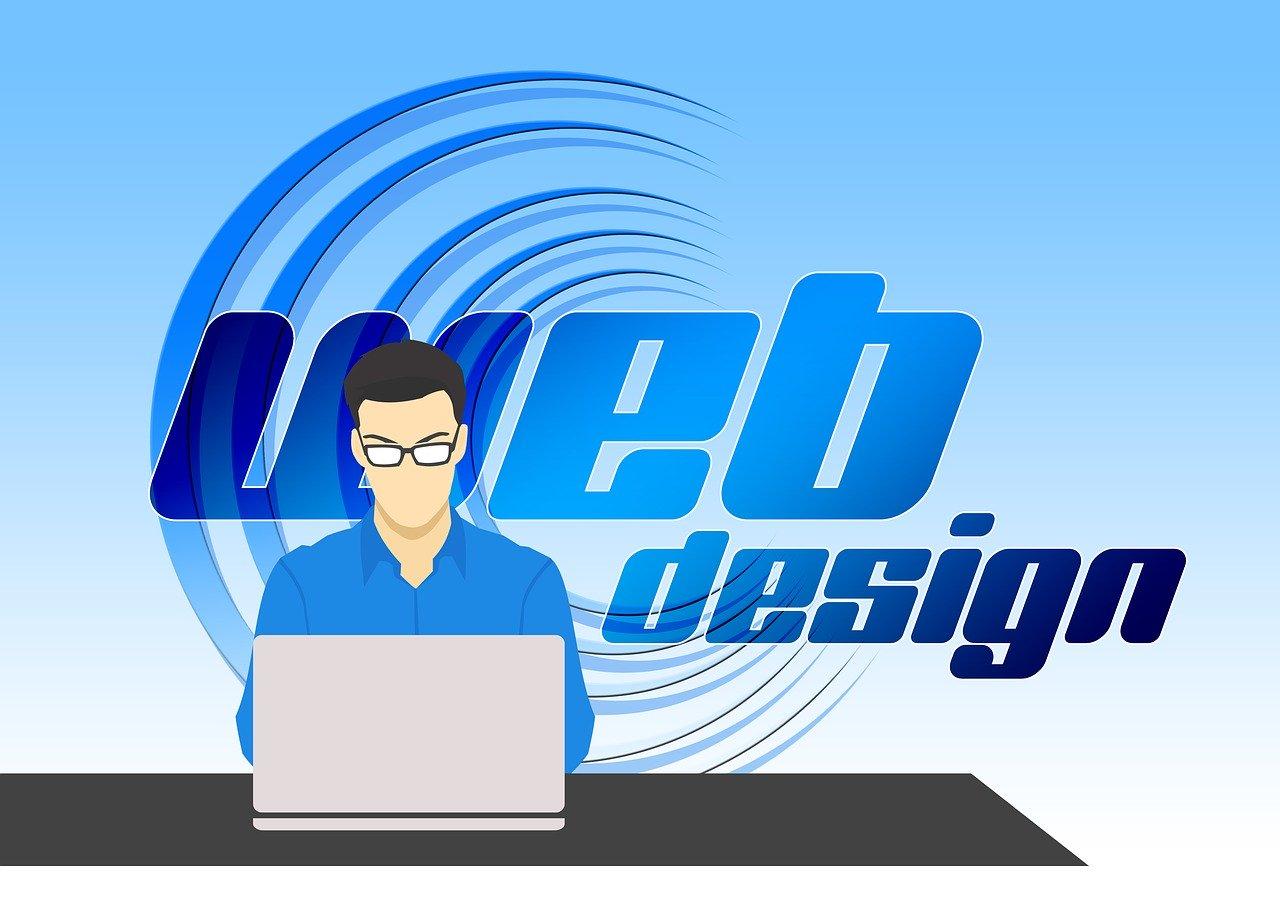 Site web avec design responsive