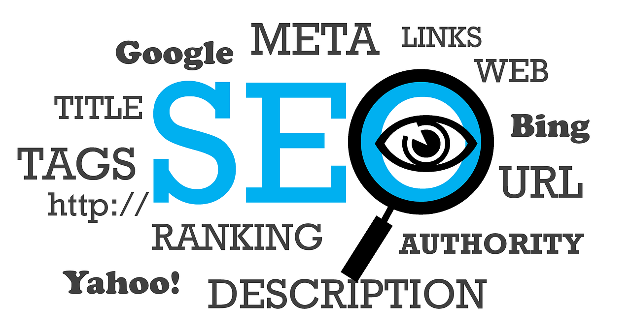 site web d'artiste optimisé SEO