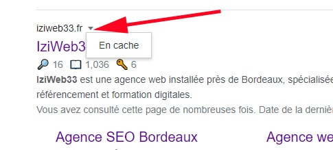 capture cache Google
