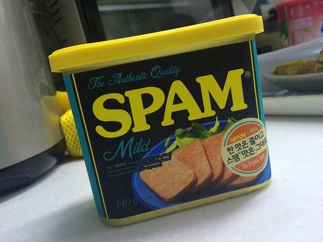 désaveu de liens spam