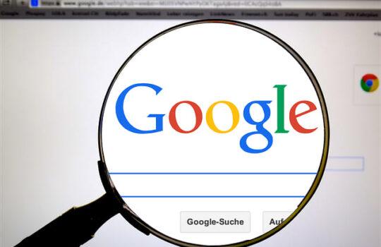 définition index google