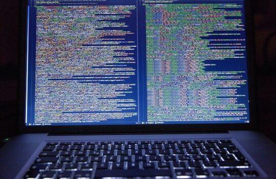 ligne de code d'un site internet