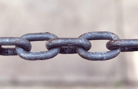 chaine représentant un lien permanent